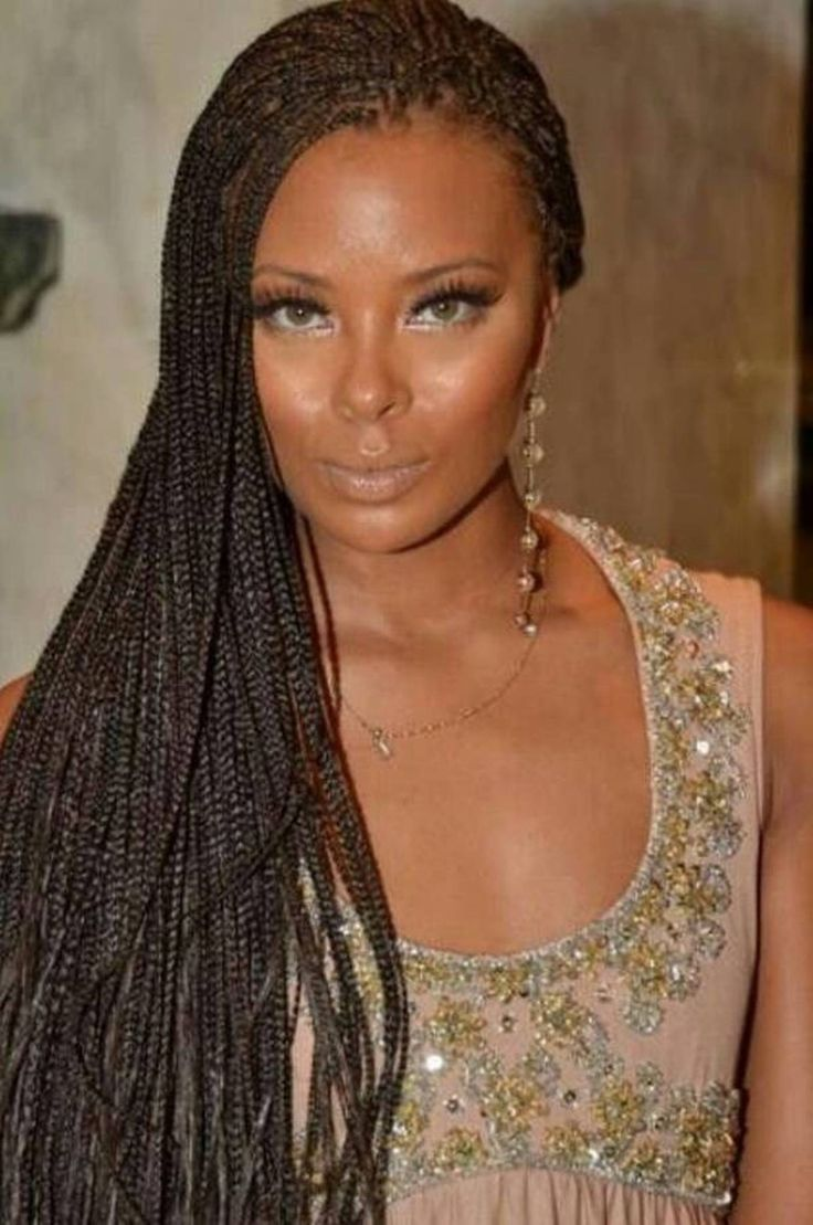 Be Ready To Dare Some Stylish Micro Braids This Summer