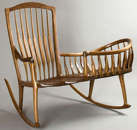 i love rocking chairs this one is awesome!