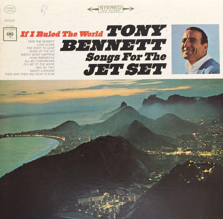 Tony Bennett Songs For The Jet Set 1965 Vinyl LP Record Album