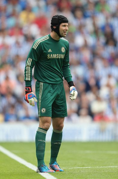 Petr Cech Photos - Petr Cech of Chelsea in action during the pre season  friendly match between Brighton   Hove Albion and Chelsea at the Amex  Stadium on ... 8a7730907