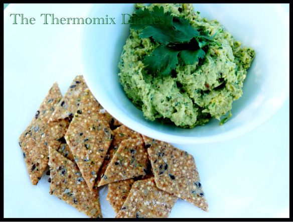Quinoa and Spelt Crackers