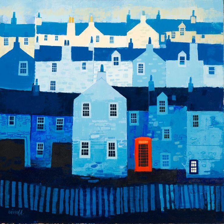 TITLE UNKNOWN BY GEORGE BIRRELL. Viewing buildings art gives you new exciting possibilities for home decor. Buildings art paintings will brighten office decor in ways you can not image. Explore the beauty of colorful imaginative architectural paintings. You will be amazed! SEE MORE BUILDINGS ART PAINTINGS NOW.... www.http://richard-neuman-artist.com/collections/90009