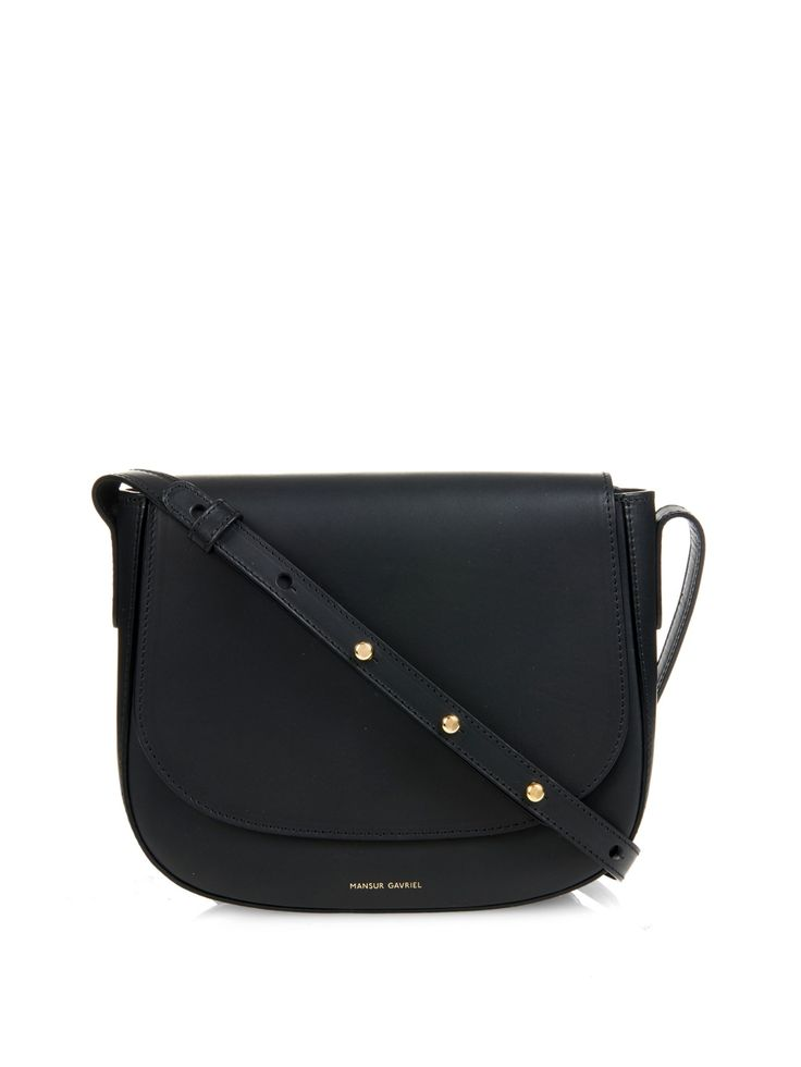 Vegetable tanned-leather cross-body bag | Mansur Gavriel | MATCHESFASHION.COM US