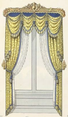 victorian mansion drapes | Image detail for -Victorian curtain rods