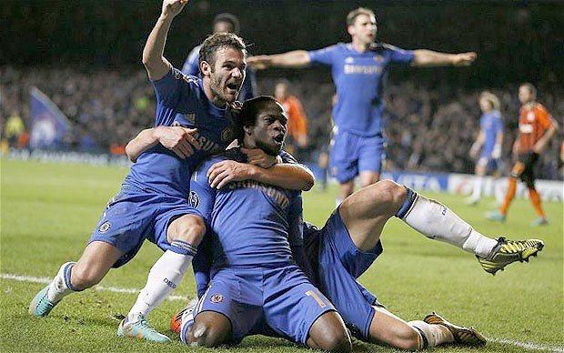 Chelsea 3 - Shakthar 2