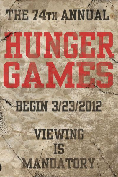 The Hunger GamesMovie Posters, Favors, Hunger Games Movie, Cant Wait, The Hunger Games, Book, Hungergames, The Games, Things