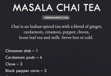 PERFECT MASALA CHAI TEA RECIPE