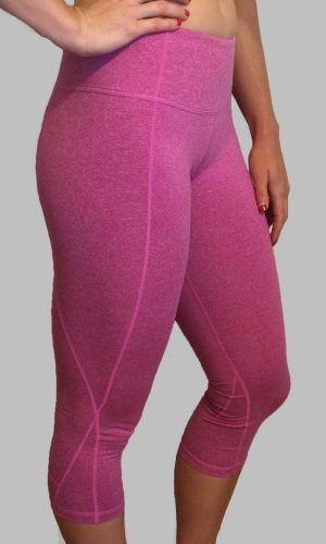 FitnessSanctum.com ---NEW--- Heather Fuchsia CrossFit-style Capris from Born Primitive-- $50--(fitnessssanctum.com...)