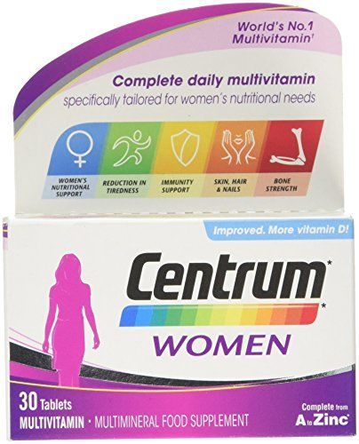 The Product Centrum Multivitamin Tablets for Women, Pack of 30  Can Be Found At - http://vitamins-minerals-supplements.co.uk/product/centrum-multivitamin-tablets-for-women-pack-of-30/