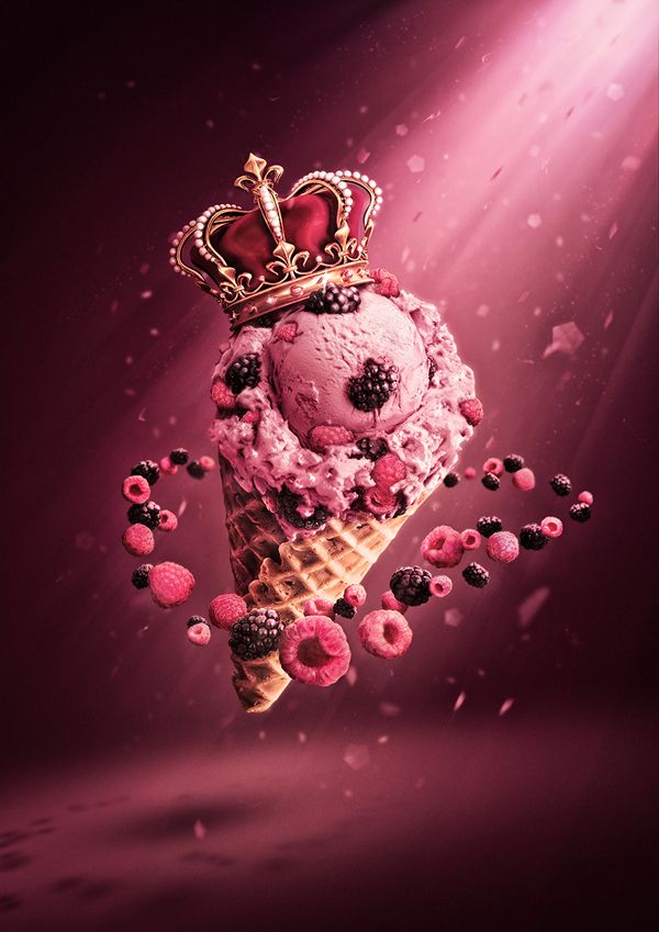 Royal Scoop by Featherwax, via Behance