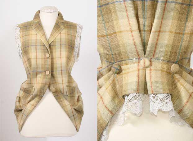 Interesting Jacket now Vest re-do…