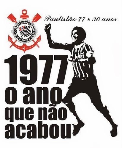 Sport Club Corinthians Paulista - Campeão Paulista de 1977