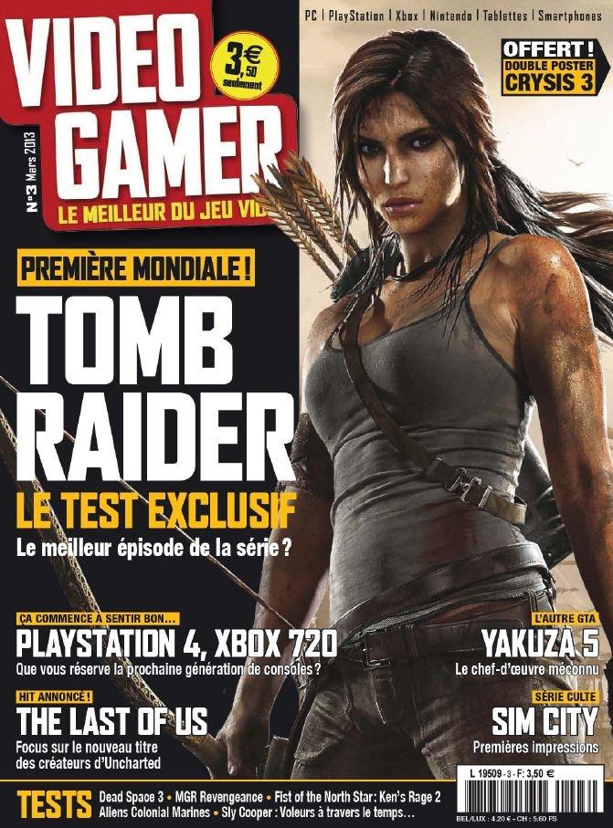 VidéoGamer N 3 - Mars 2013 French   100 Pages   PDF   109 MB