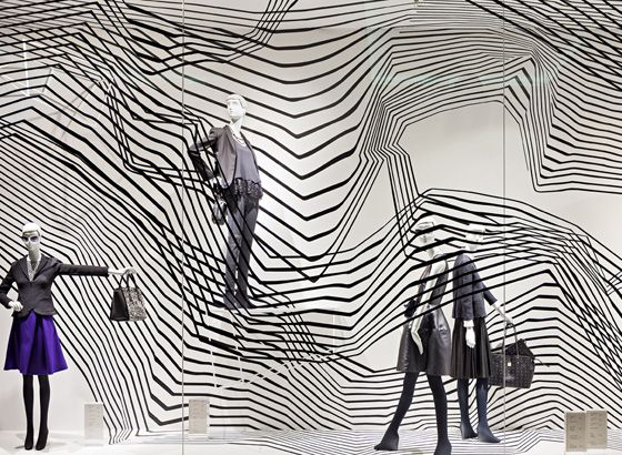 """""""High Tech Structure"""" at Ludwig Beck Munich Germany,""""Hedwig.....I found your handbag"""", pinned by Ton van der Veer"""