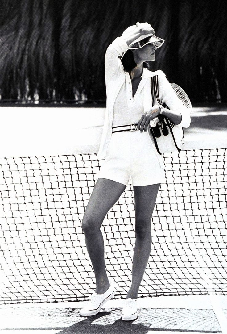 Vogue Looks at The Evolution of Tennis Fashion, from 1901–2011 - Vogue