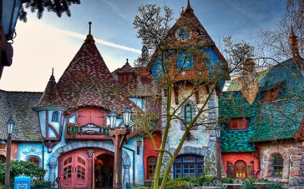 Reminds me of the architecture my dad use to do...: Houses, Favorite Places, Color, Fairytale House, Dream House, Fairy Tales, Space, Fairytales, Photo