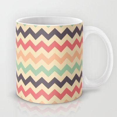 Colorful chevron Mug by Tami Art - $15.00