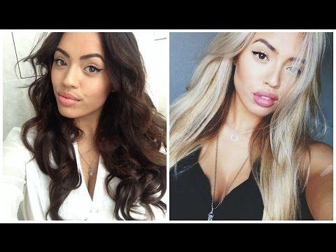 Brunette Goes Blonde| NO DAMAGE|Olaplex| One Sitting| Educational Tutorial| - YouTube