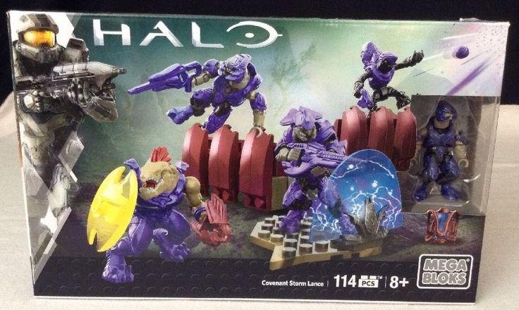 NEW Mega Bloks Halo Covenant Storm Lance 114 Pcs. DLB96 Commander Jackal Elite #MegaBloks