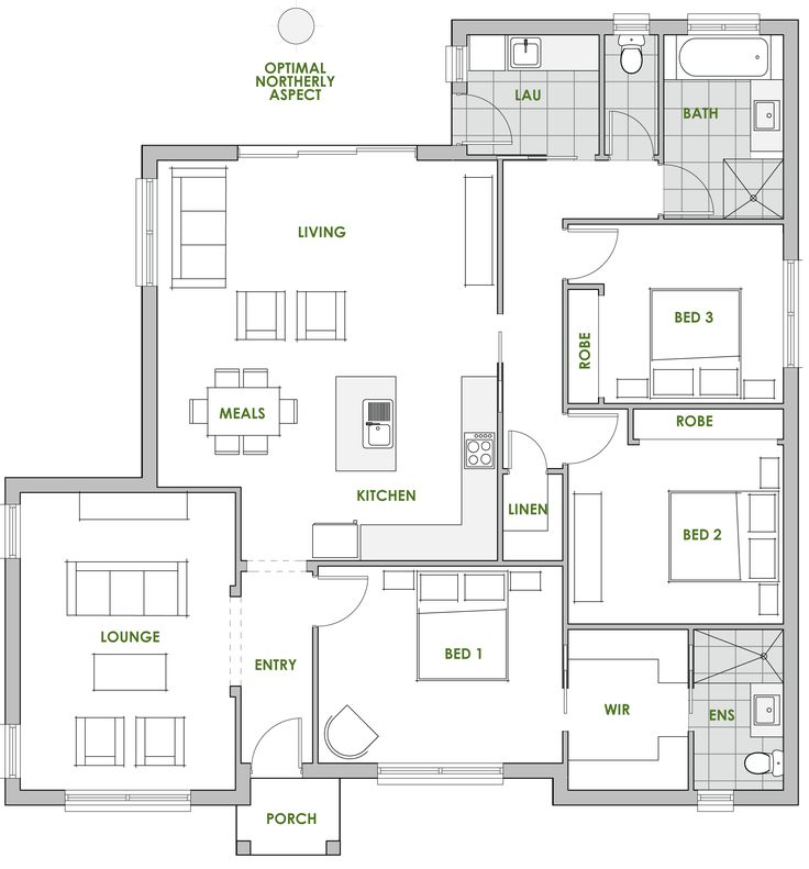 Hibiscus - Energy Efficient Home Design - Green Homes Australia