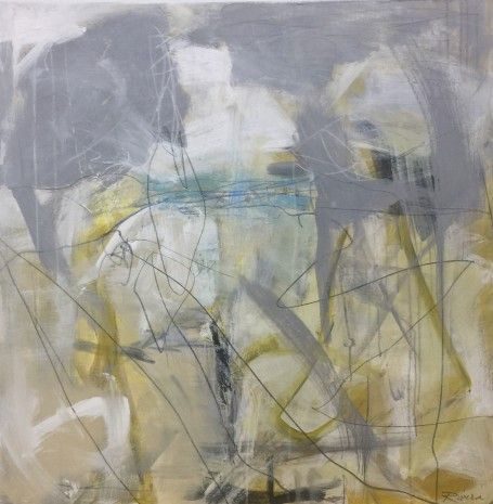 """Jennifer Rivera, """"Too Many to Count"""", 36"""" X 36"""", Mixed Media on Canvas"""
