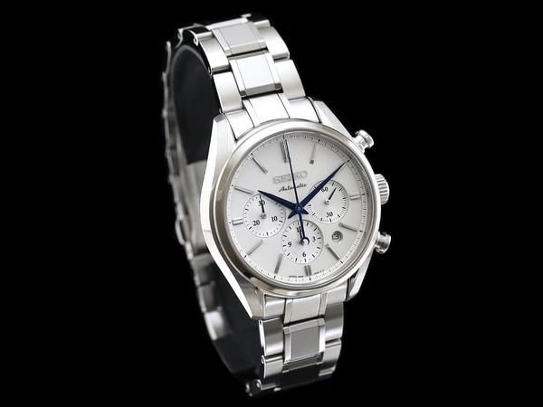 Seiko Presage Automatic Chronograph SARK005 DetailsListed price: 237,600JPY (Made in Japan)Case Bracelet: SS (with Dia-shiled)Dial: White(Non Luminous)Crystal: