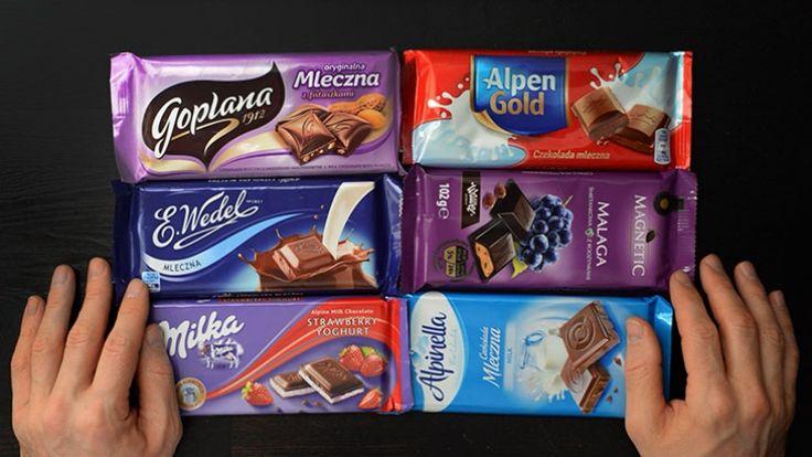 Przegląd opakowań czekolad cz.1