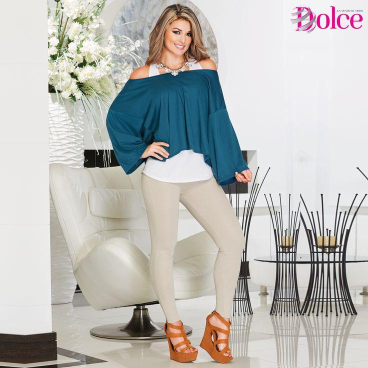 Para este día luce este Dúo de Blusas, una #prenda para lucir #elegante a donde vayas.  Encuentra esta pinta en nuestra campaña #10.