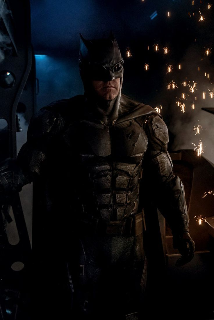 The New Batsuit - Ben Affleck as Batman in Justice League. I liked the other one better.