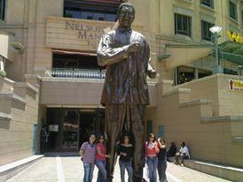 Madiba Statue 2012