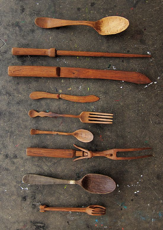 WoodenUtensils_11... If you click on this pin, it will lead you to a sweet story about these beautiful utensils...