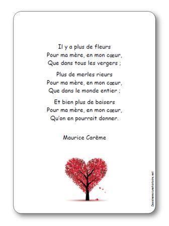 """Pour la fête des mères - Maurice Carême """"Pour ma mère"""" Découvrir le tableau Pinterest entièrement consacré au poète belge https://www.pinterest.com/sandradulier/maurice-car%C3%AAme/"""