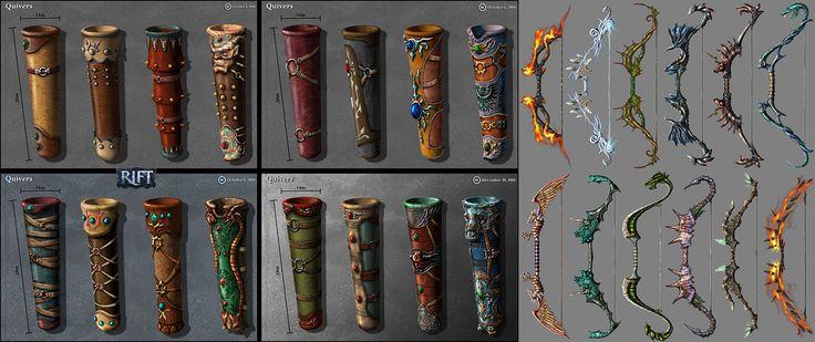 ArtStation - Fantasy Weapons - Rift set 01, Ken Nguyen