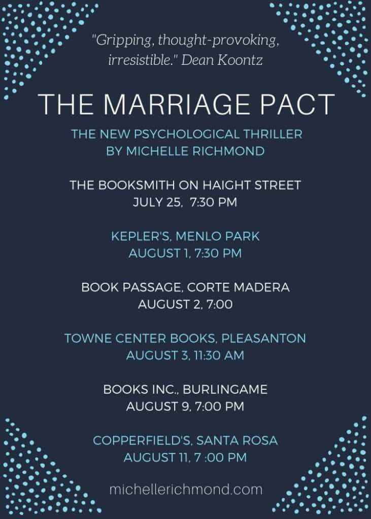 The Marriage Pact Book Tour - Michelle Richmond