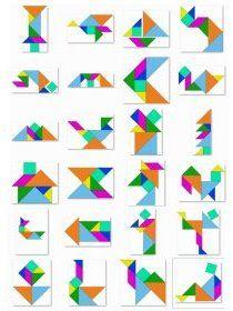 Librairie-Interactive - 35 tangrams