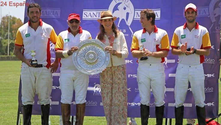 TorneoPolo.- La Infanta Elena también estará presente en la final de la Copa de Oro Santa María Polo Club