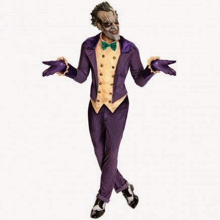 Disfraz de Joker Arkham City | Disfraces Originales