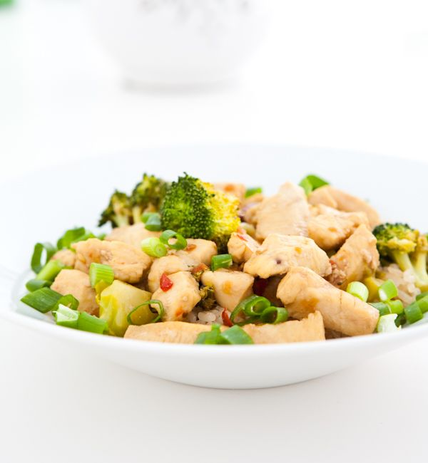 Asparagus And Broccoli Chicken Teriyaki Recipe — Dishmaps