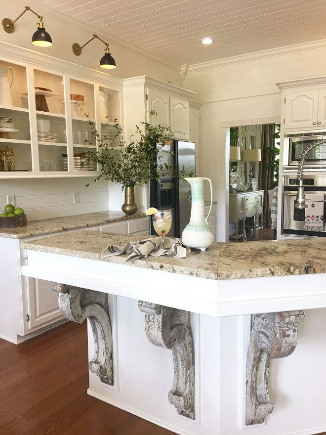 17 best images about kitchens on pinterest french for French antique white kitchen cabinets
