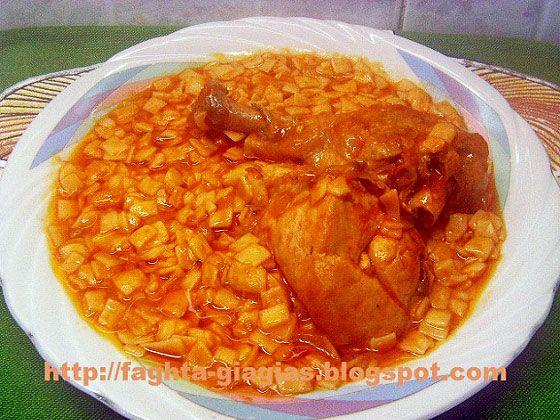 Κοτόπουλο με χυλοπίτες στο φούρνο - από «Τα φαγητά της γιαγιάς»