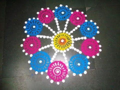 Best 25 latest rangoli ideas on pinterest simple rangoli designs rangoli and rangoli designs - Beautiful dizain image ...