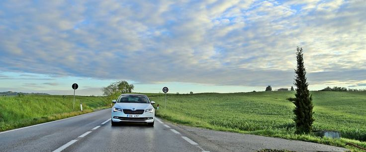 Is that your heart beating faster, or is that the New ŠKODA Superb? Photo credit to ŠKODA