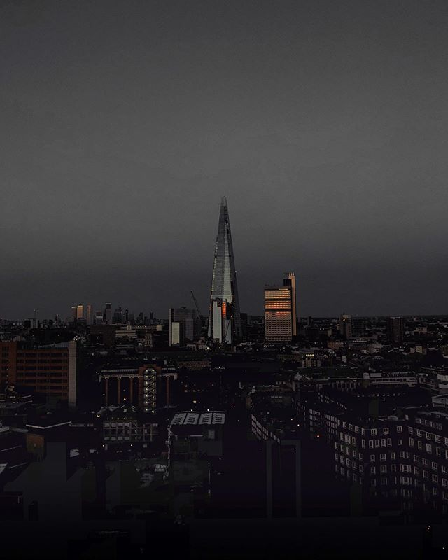 About last night Shard shot from @tate rooftop
