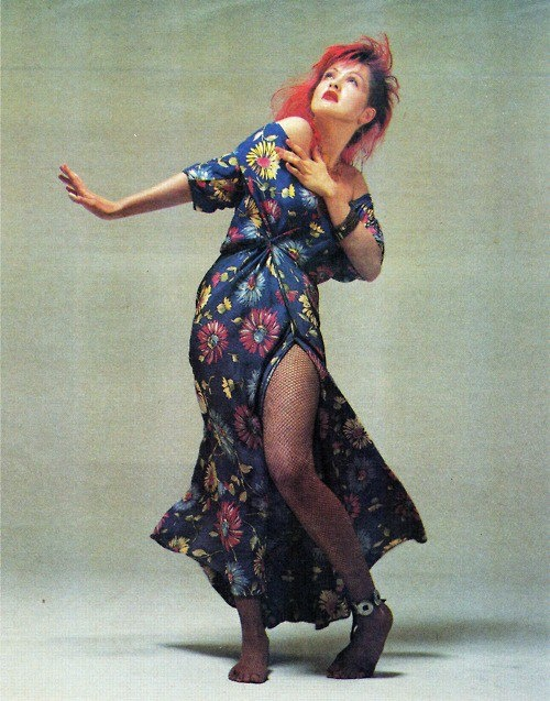 One of my favorite pics of Cyndi Lauper.