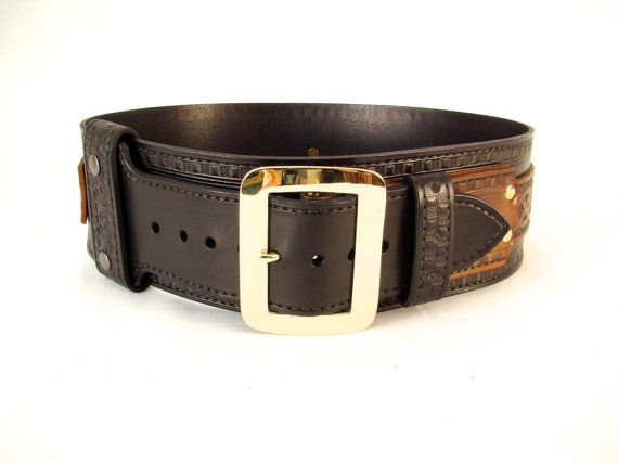 Kilt Belt Double Layer Kilt Belt Leather Belt with by HolyHeckUSA