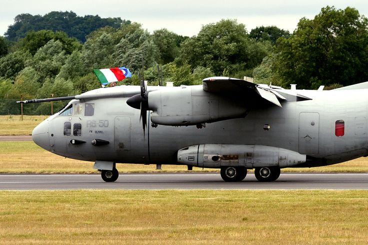 "https://flic.kr/p/21rgdKr | DSC_3096_00001 | Italian Air Force RS-50 Leonardo Velivoli (Alenia) C-27J Spartan ""Reparto Sperimentale Volo""  CSX62219 - N.C.119"