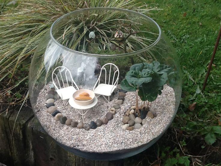 "Miniatur Garten ""Ruhiges Plätzchen"""