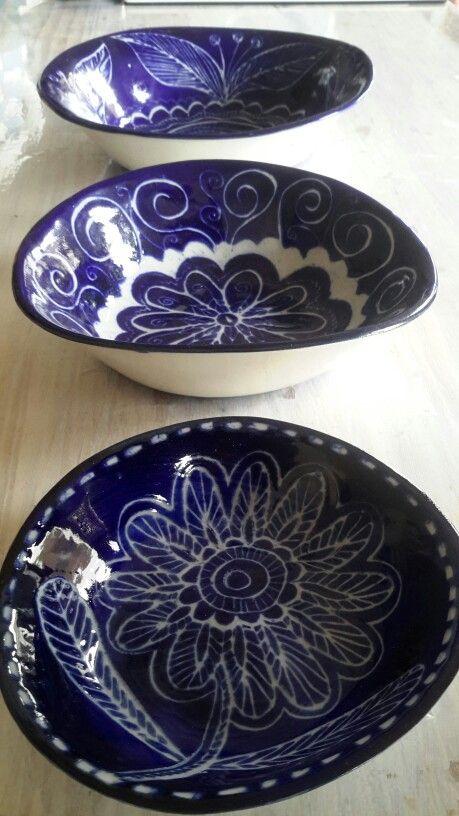 A trio of bowls