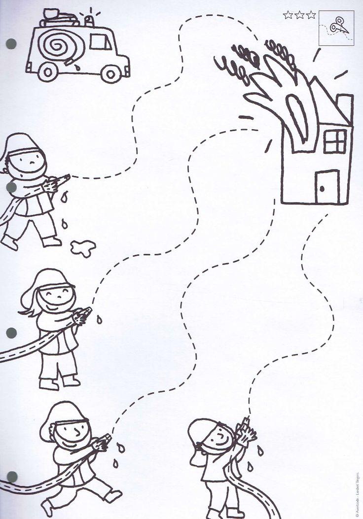 Brandweer: Schrijfmotoriek