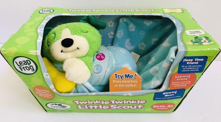 Leapfrog Twinkle Twinkle Little Scout Plush Dog Puppy Blanket